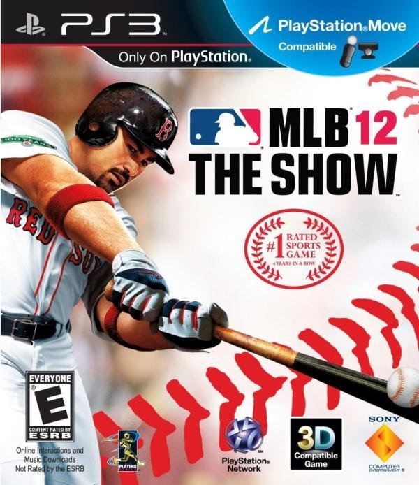 SCE MLB 12 The Show PS3 Playstation 3 Game