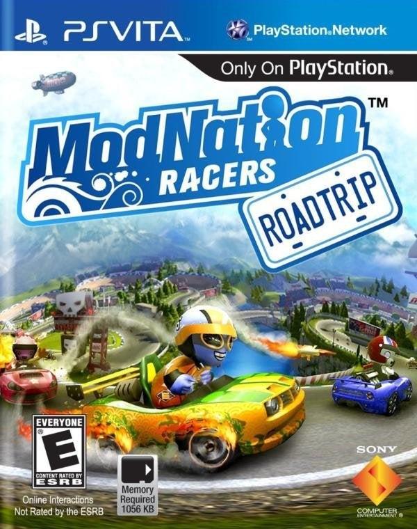 SCE ModNation Racers Road Trip PlayStation Vita