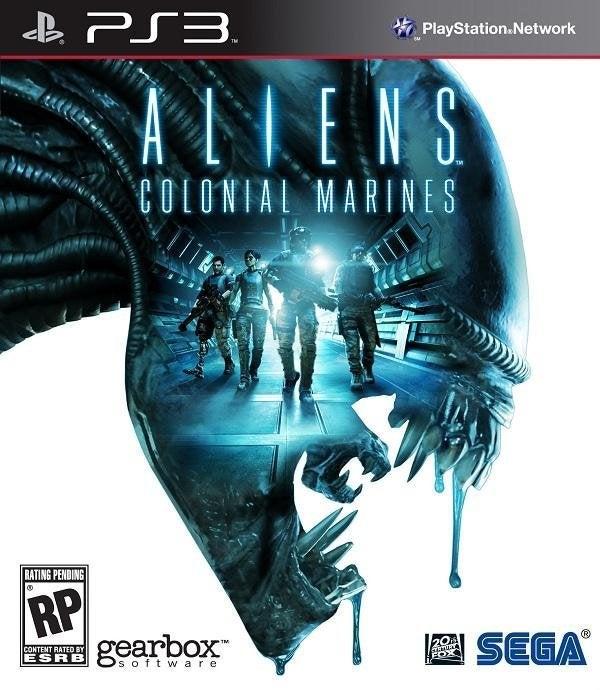 Sega Aliens Colonial Marines PS3 Playstation 3 Game