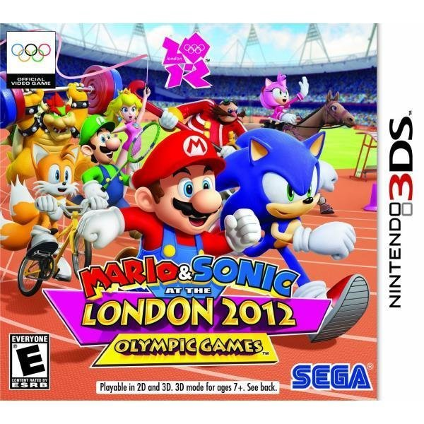 Sega Mario and Sonic at the London 2012 Olympic Games Nintendo 3DS Game