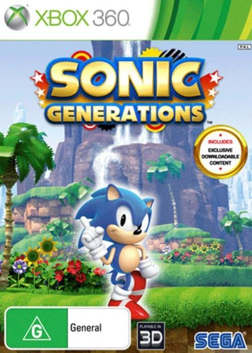Sega Sonic Generations Limited Edition Xbox 360 Game