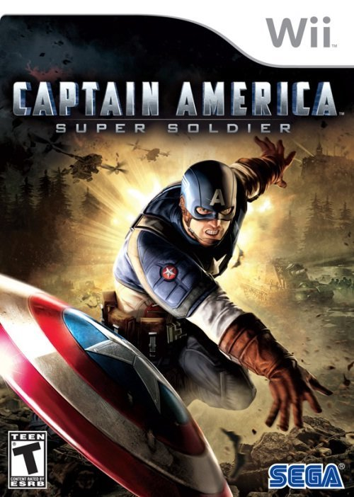 Sega Captain America Super Soldier Nintendo Wii Game