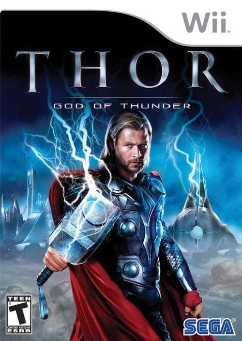 Sega Thor God of Thunder Nintendo Wii Game