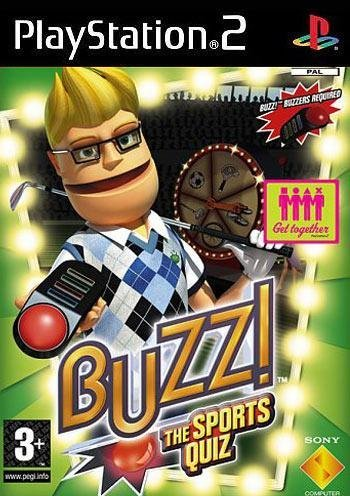 Sony Buzz Sports Quiz PS2 Playstation 2 Game