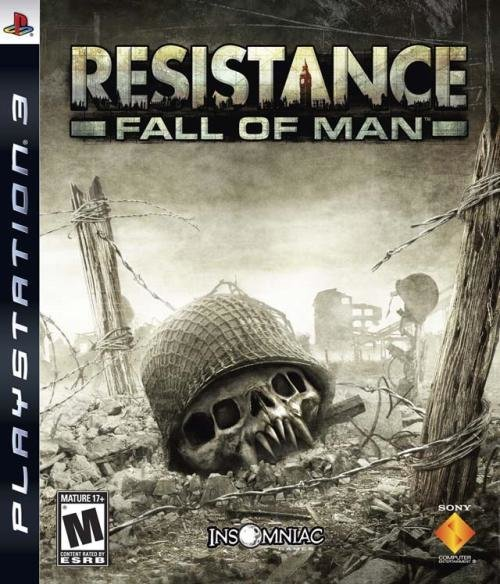 Sony Resistance Fall Of Man PS3 Playstation 3 Game