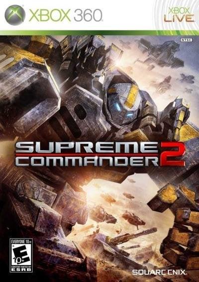 Square Enix Supreme Commander 2 Xbox 360 Game