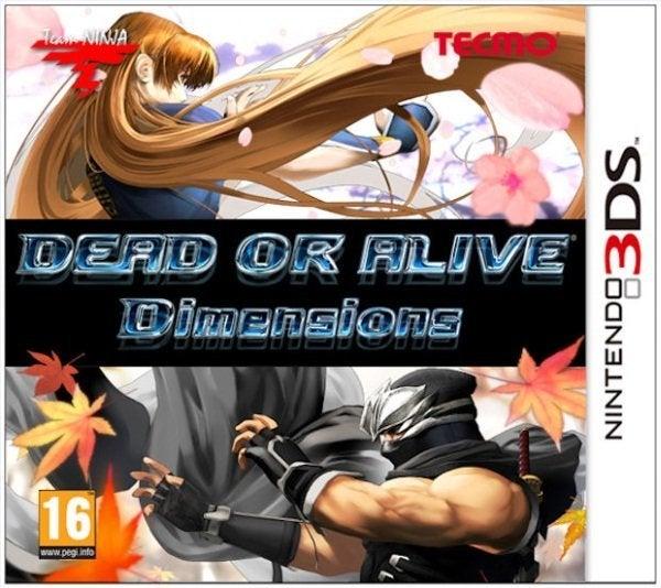 Tecmo Dead or Alive Dimensions Nintendo 3DS Game
