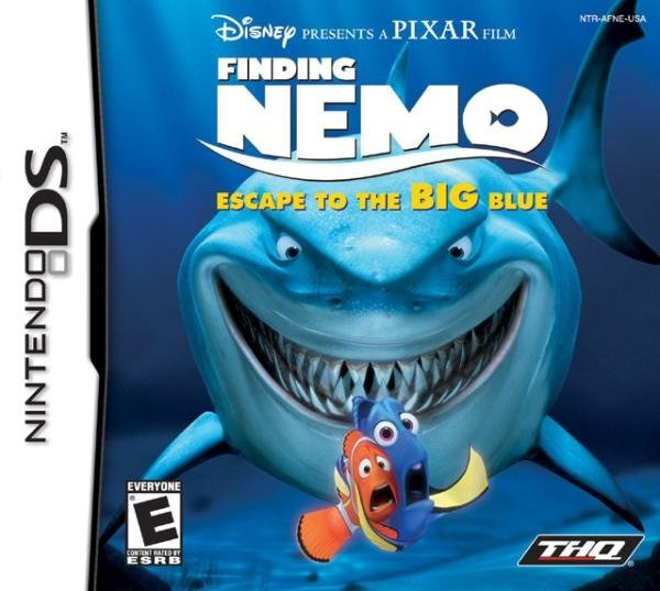 THQ Finding Nemo Escape to the Big Blue Nintendo DS Game