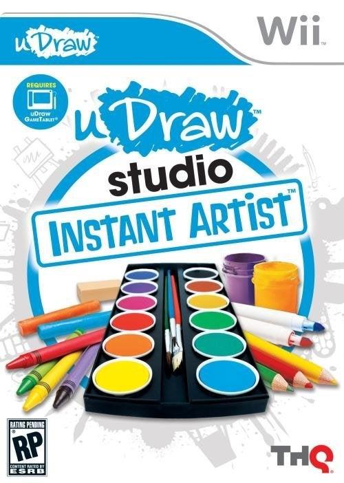THQ uDraw Studio Instant Artist Nintendo Wii Game
