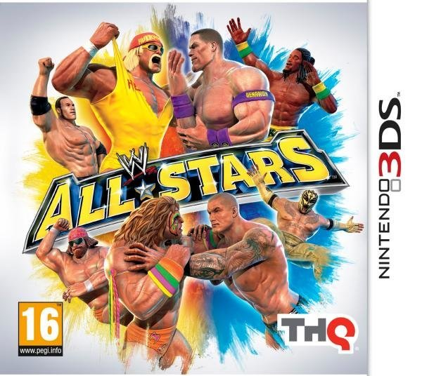 THQ WWE All Stars Nintendo 3DS Games