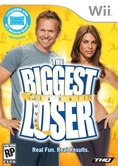 THQ Biggest Loser Nintendo Wii Game