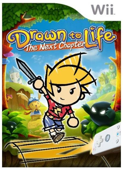 THQ Drawn To Life The Next Chapter Nintendo Wii Game