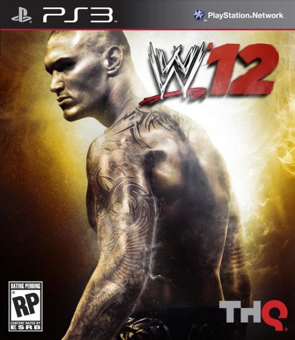 THQ WWE 12 PS3 Playstation 3 Game