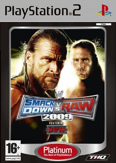 THQ WWE Smackdown VS RAW 2009 PS2 Playstation 2 Game
