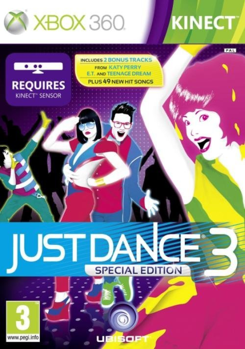 Ubisoft Just Dance 3 Special Edition Nintendo Wii Game