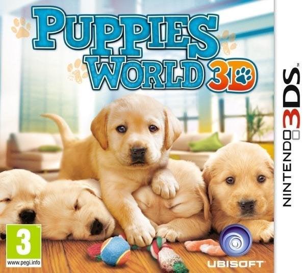 Ubisoft Puppies World 3D Nintendo 3DS Games