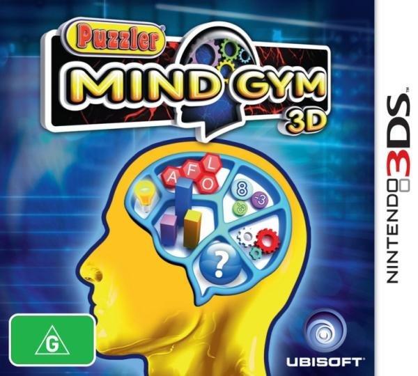 Ubisoft Puzzler Mind Gym 3D Nintendo 3DS Games