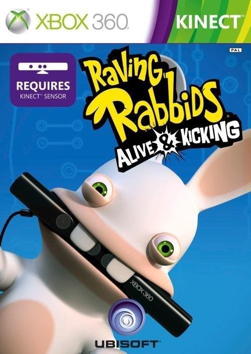 Ubisoft Raving Rabbids Alive and Kicking Xbox 360 Game