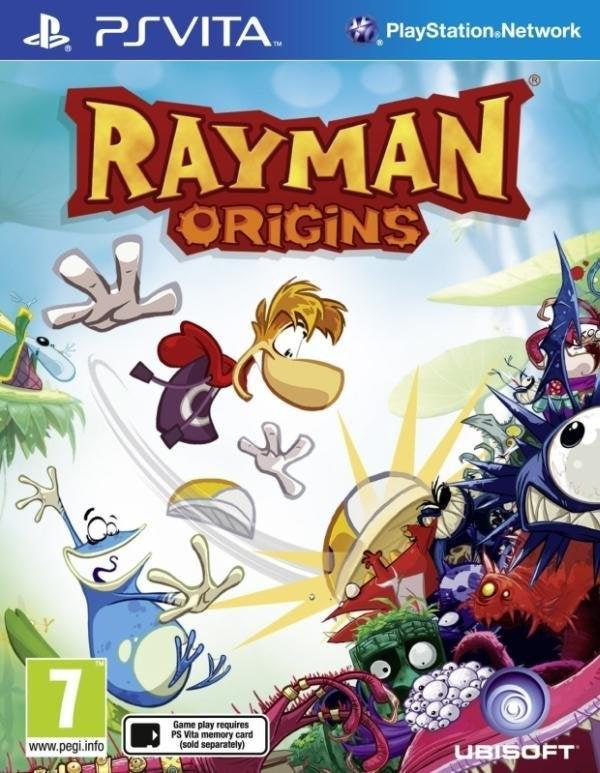 Ubisoft Rayman Origins PS Vita Game