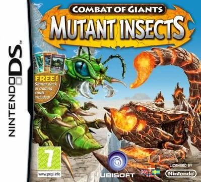 Ubisoft Combat of Giants Mutant Insects Nintendo DS Game