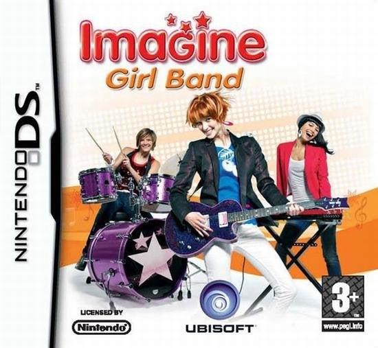 Ubisoft Imagine Girl Band Nintendo DS Game
