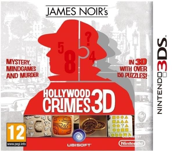 Ubisoft James Noirs Hollywood Crimes Nintendo 3DS Game