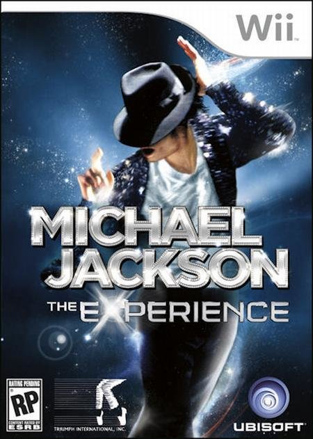 Ubisoft Michael Jackson The Experience Nintendo Wii Game