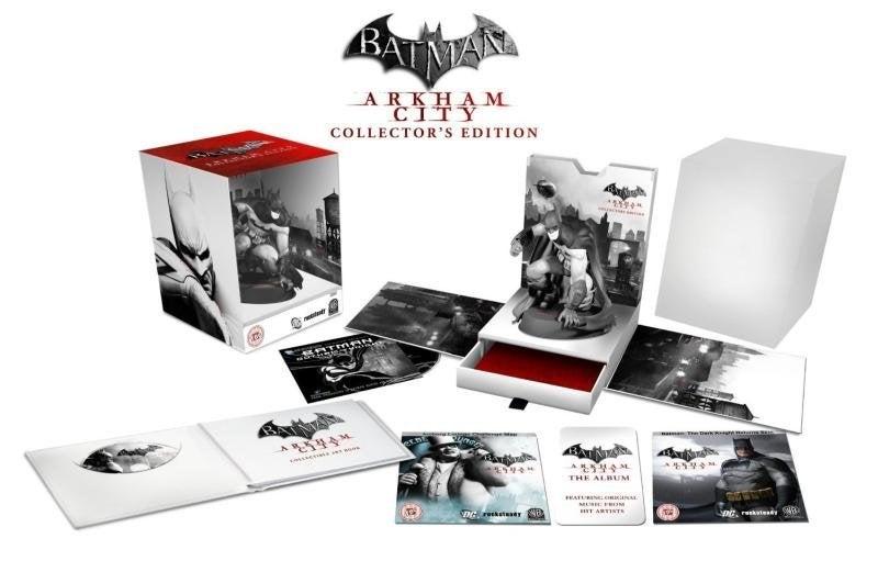 Warner Bros Batman Arkham City Collectors Edition PS3 Playstation 3 Game