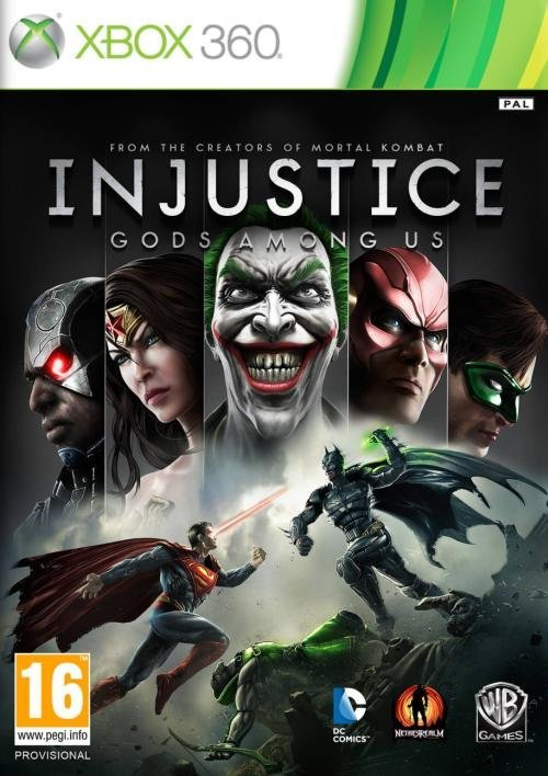 Warner Bros Injustice Gods Among Us Xbox 360 Game