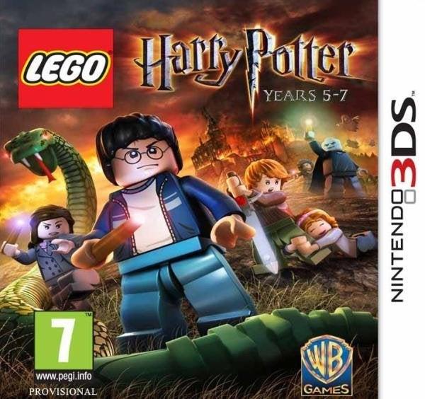 Warner Bros Lego Harry Potter Years 5 - 7 Nintendo 3DS Games