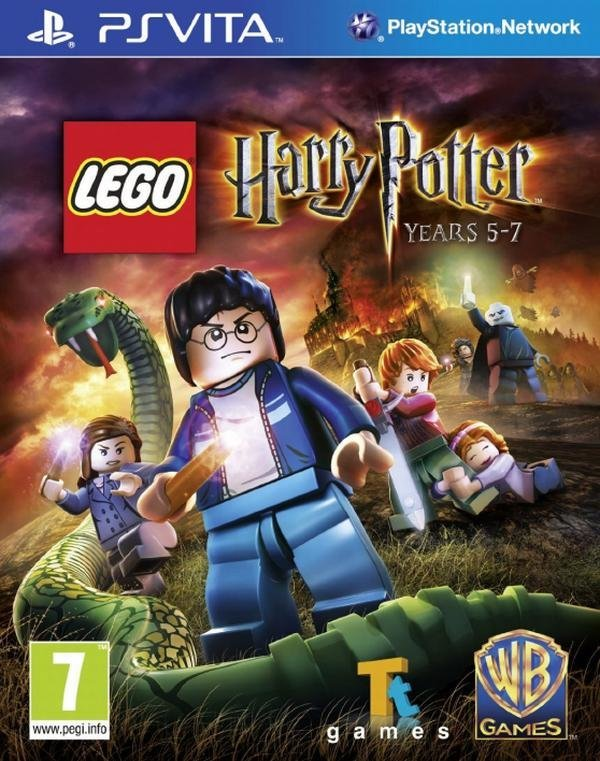 Lego Warner Bros Lego Harry Potter Years 5-7 Ps Vita Game