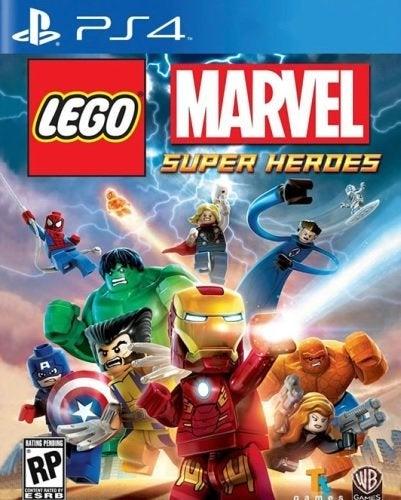 Warner Bros Lego Marvel Super Heroes PS4 Playstation 4 Game