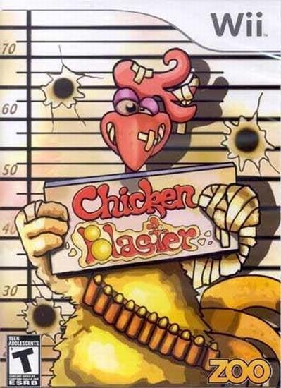 Zoo Chicken Blaster Nintendo Wii Game
