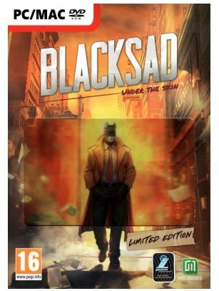 Microids Blacksad Under The Skin Limited Edition PC Game