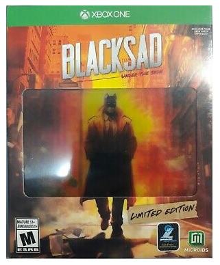 Microids Blacksad Under The Skin Limited Edition Xbox One Game