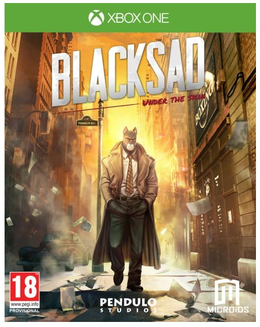 Microids Blacksad Under The Skin Xbox One Game