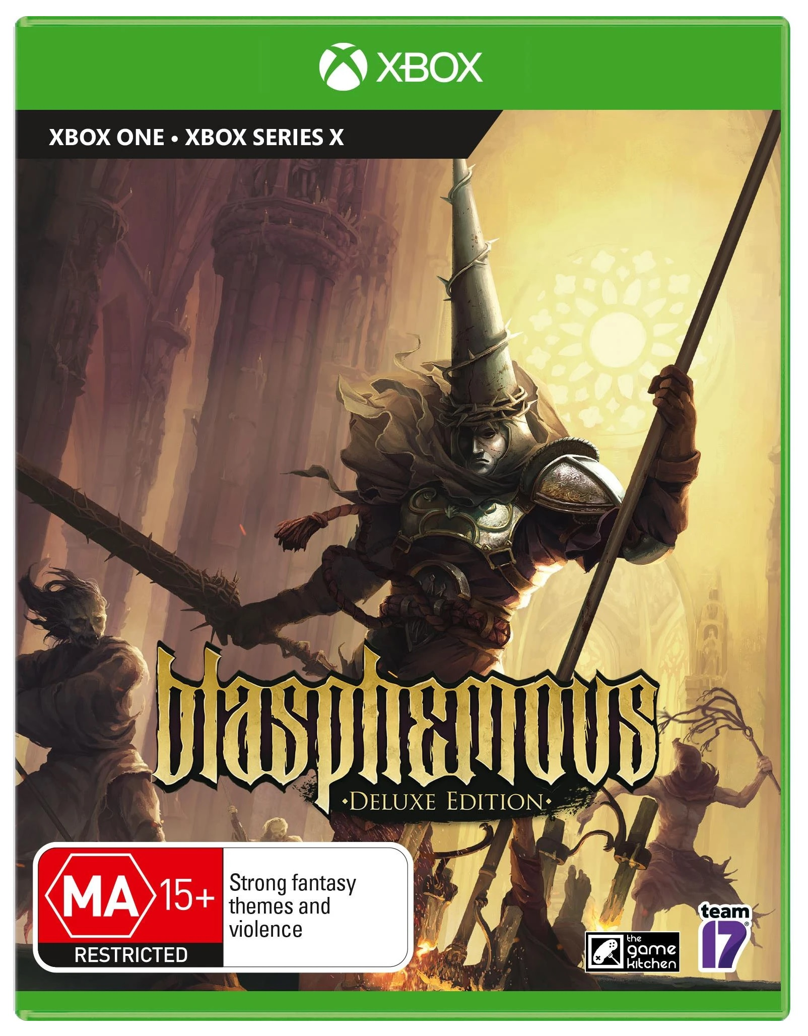 Team17 Software Blasphemous Deluxe Edition Xbox One Game
