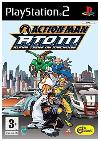 Blast Entertainment Action Man ATOM Alpha Teens on Machines PS2 Playstation 2 Game