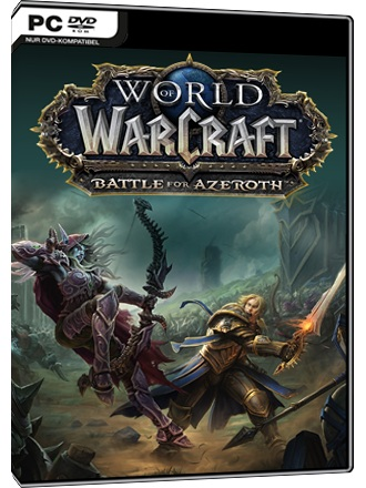 Blizzard World of Warcraft Battle for Azeroth PC Game