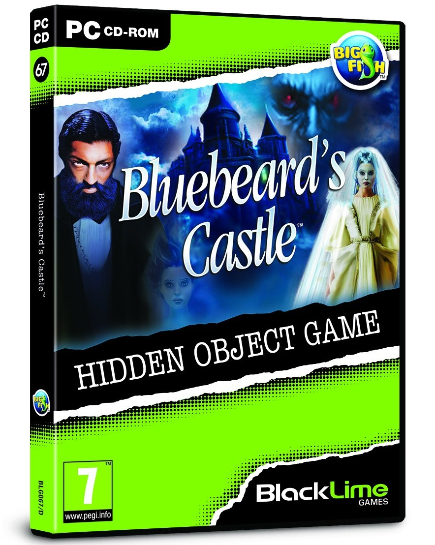 Big Fish Games Bluebeards Castle Hidden Object PC Game