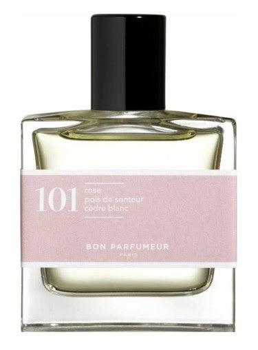 Bon Parfumeur 101 Rose Sweet Pea White Cedar Unisex Cologne