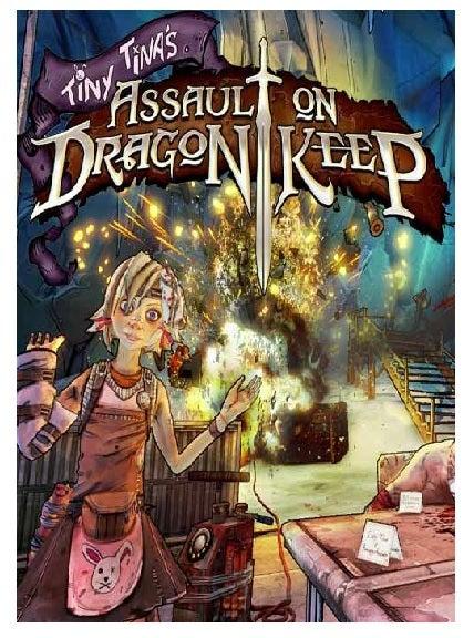2k Games Borderlands 2 Tiny TinaS Assault On Dragon Keep PC Game