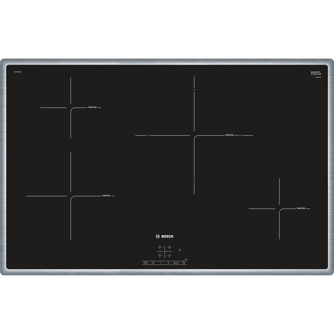 Bosch PIE845BB1E Kitchen Cooktop