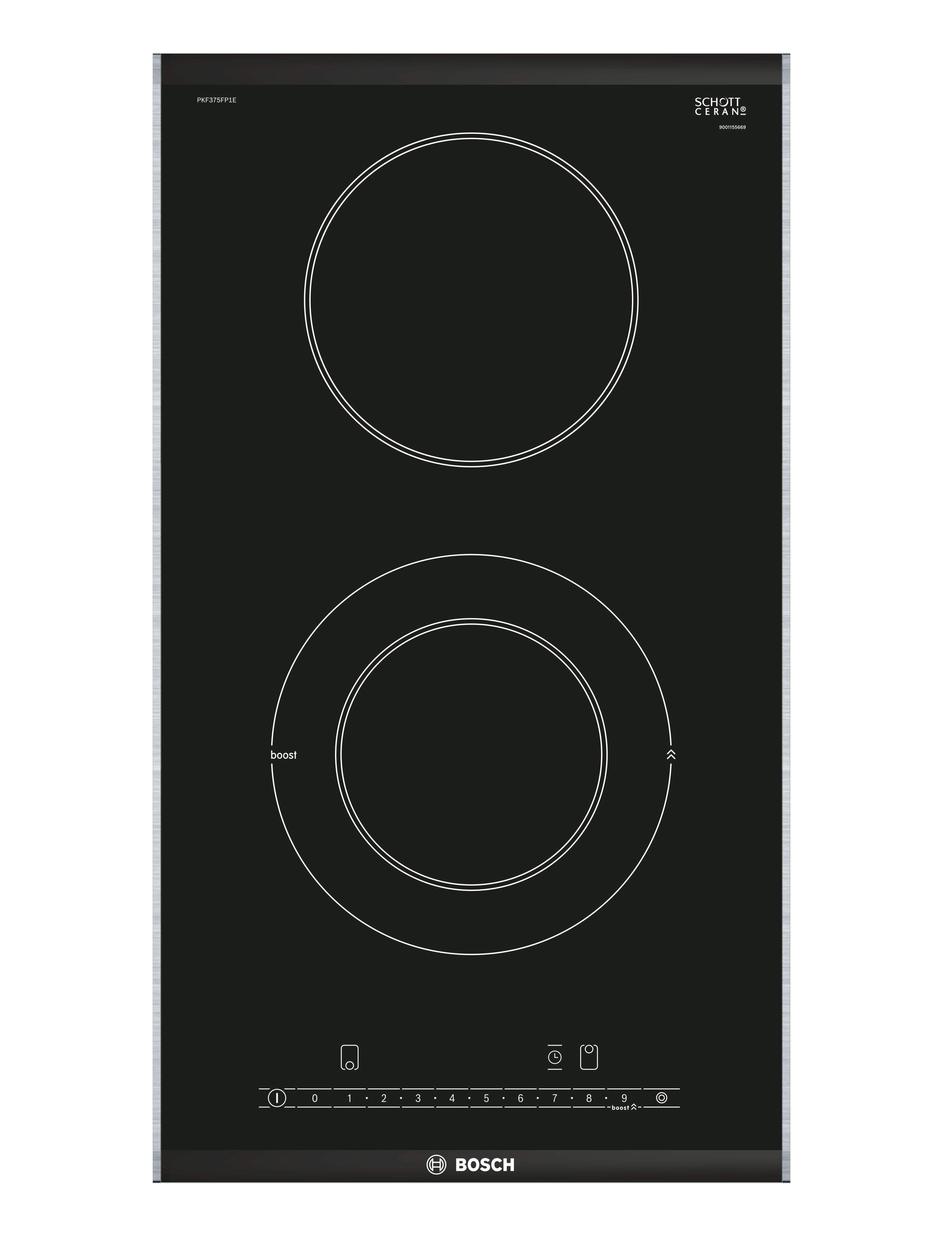 Bosch PKF375FP1E Kitchen Cooktop