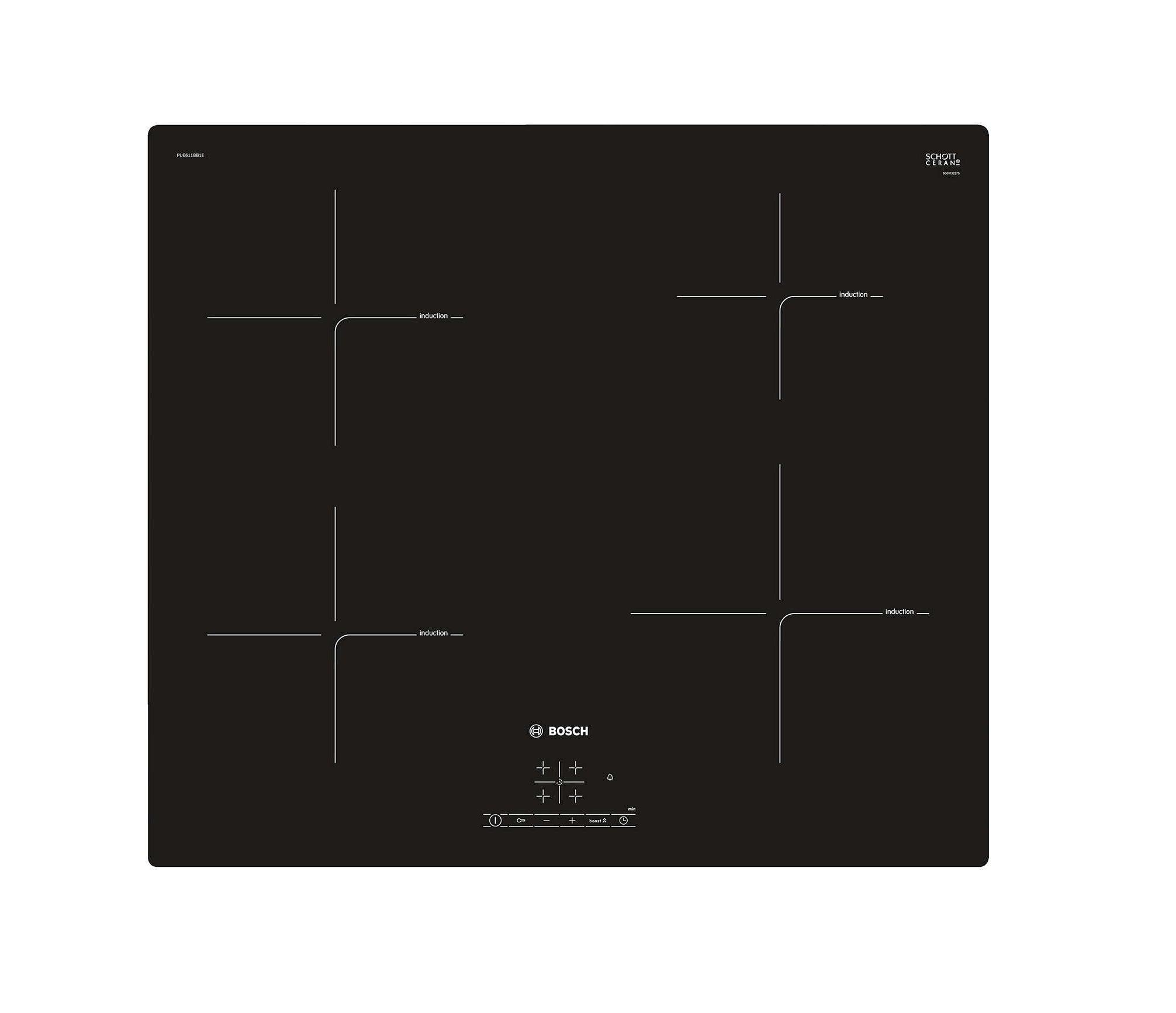 Bosch PUE611BB1E Kitchen Cooktop