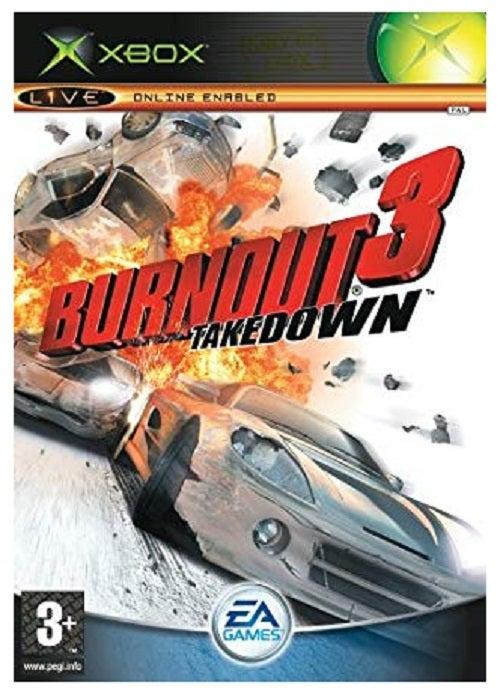 Electronic Arts Burnout 3 Takedown Xbox Game