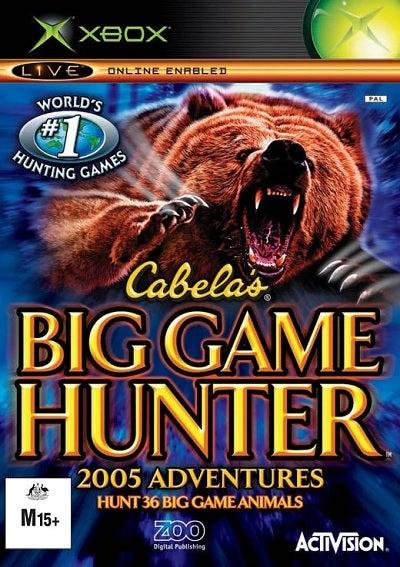 Activision Cabelas Big Game Hunter 2005 Adventures Refurbished Xbox Game