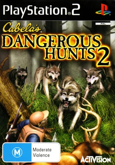 Activision Cabelas Dangerous Hunts 2 Refurbished PS2 Playstation 2 Game