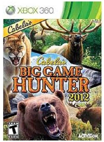Activision Cabelas Big Game Hunter 2012 Xbox 360 Game