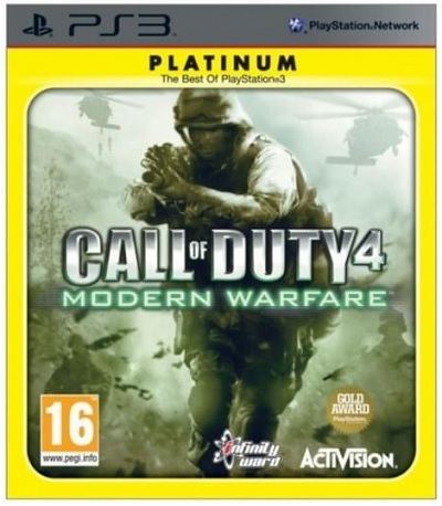 Activision Call Of Duty 4 Modern Warfare Platinum PS3 Playstation 3 Game